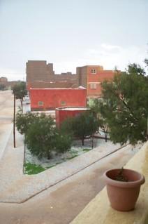 boudnib, it hailed..