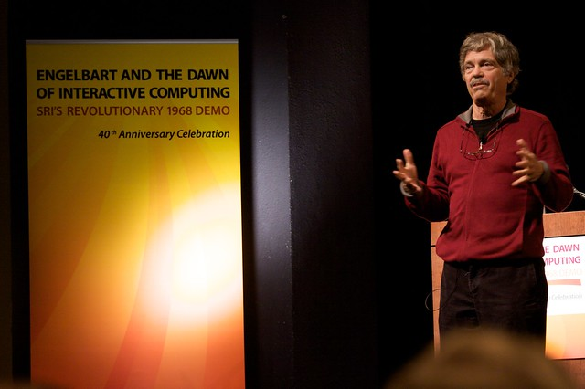 Header of Alan Kay