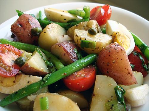 Provencal potato salad tastefully done - Ina garten french recipes ...