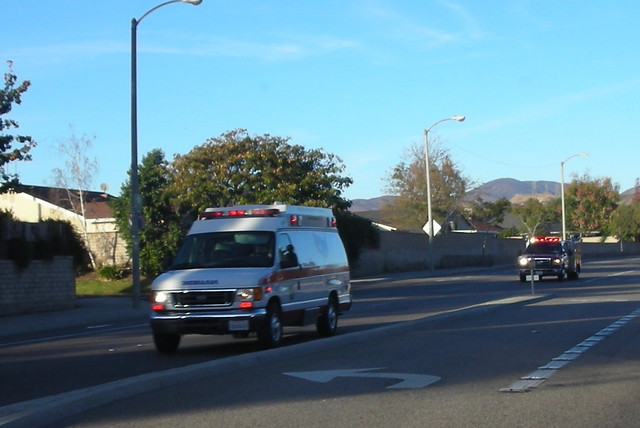 Ford Saugus AMERICAN MEDICAL RESPONSE (AMR) AMBULANCE & LOS ANGELES ...