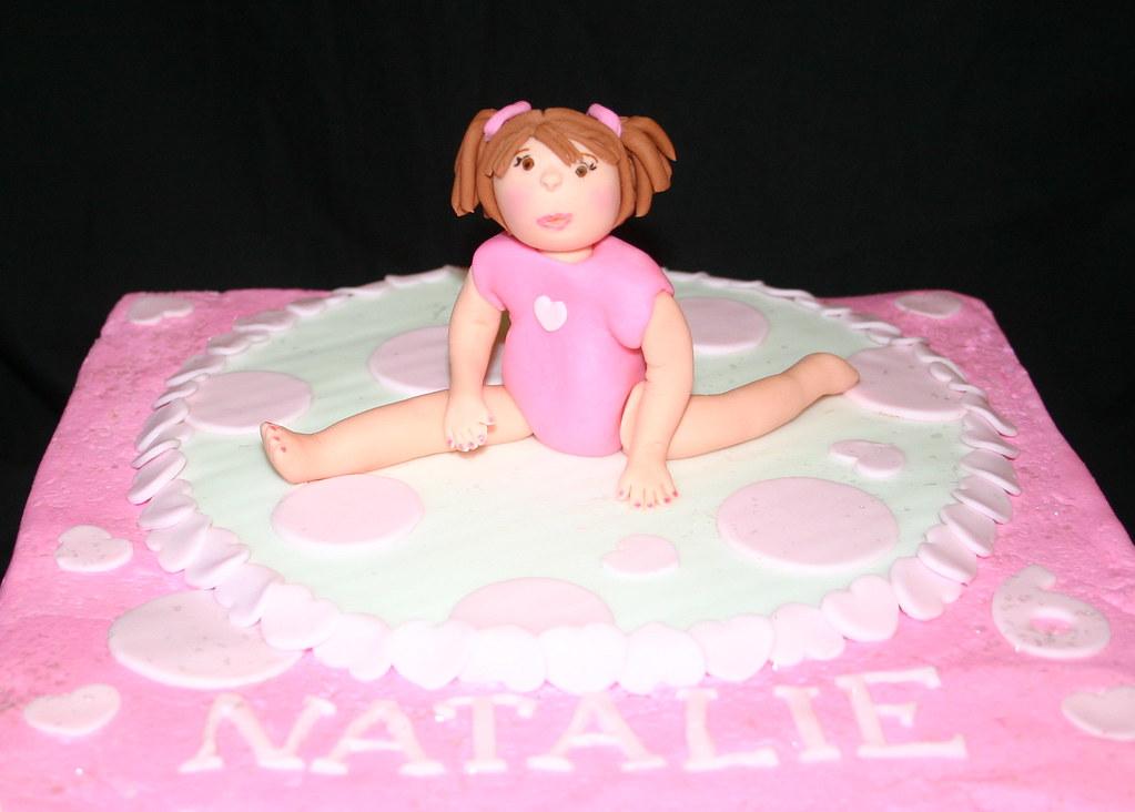 Gymnastics Cake Topper