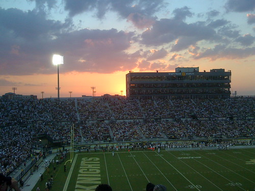 sunset football university florida stadium central knights ucf iphone networks brighthouse