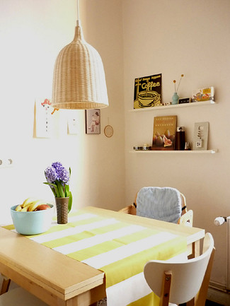 dining - stripe and small shelf