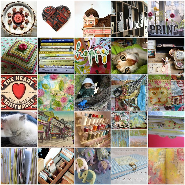 Inspiration Mosaic - April 2010