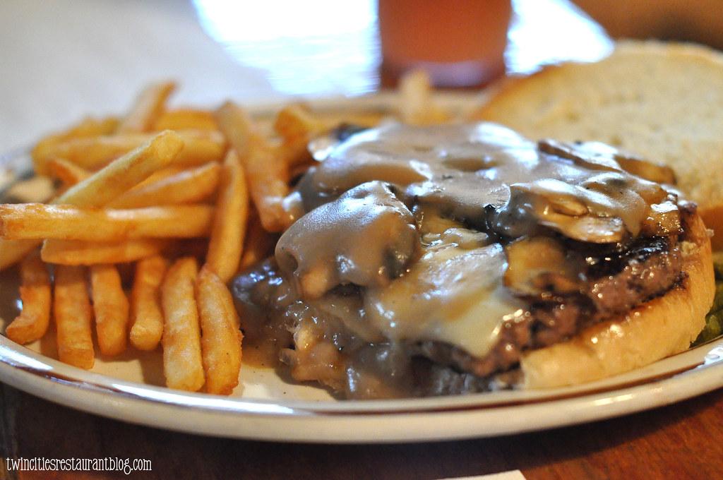 Musher Burger At Old Log Cabin Forest Lake Mn Kristi