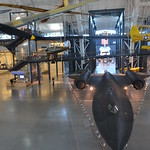Steven F. Udvar-Hazy Center: main hall panorama (SR-71, Space Shuttle, et al)