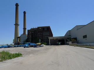 the former Northwest Incinerator
