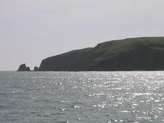 Golden gate shoreline