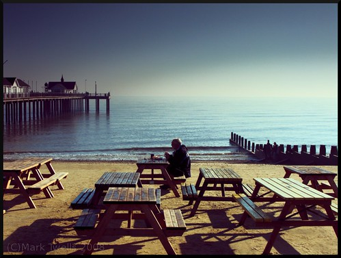 Tea by the Pier