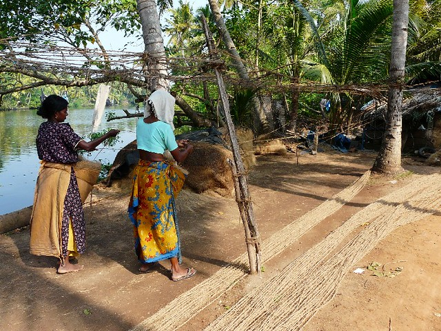 Coir Village - women at work