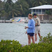 Kate and Rick Fishing by Susan Sharpless Smith