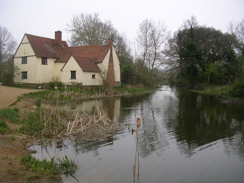 Flatford Mill - Willy Lotts' House Setting for The Haywain Manningtree circular.