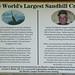 World's Largest Sandhill Crane Sign