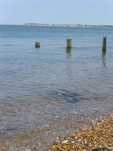 Whitstable Bay at high tide
