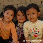 Smiling Hani Girls - Yuanyang, China