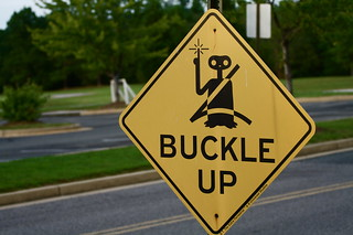 ET says buckle up