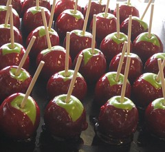 candy apple, fruit, food, dessert, apple,