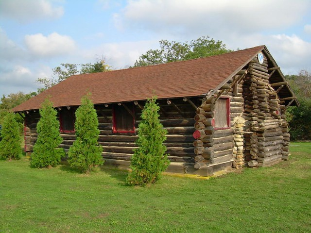 Fred Stone Log Cabin Flickr Photo Sharing