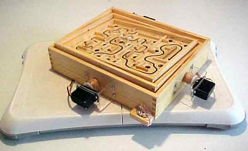 Arduino powered robotic labyrinth game someoneknows