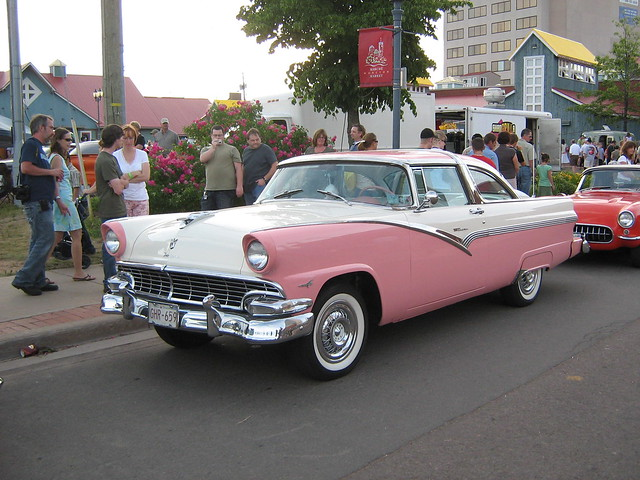 Bill Kay Ford >> 1956 Ford Fairlane Crown Victoria | The picture is taken at … | Flickr - Photo Sharing!