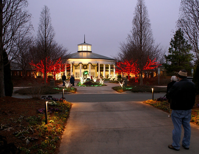 Daniel stowe gardens christmas lights flickr photo - Daniel stowe botanical garden christmas ...