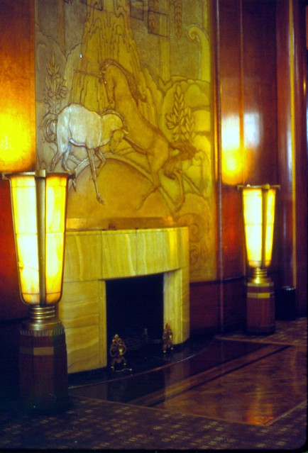 Art Deco Fireplace Rms Queen Mary Long Beach California Flickr Photo Sharing