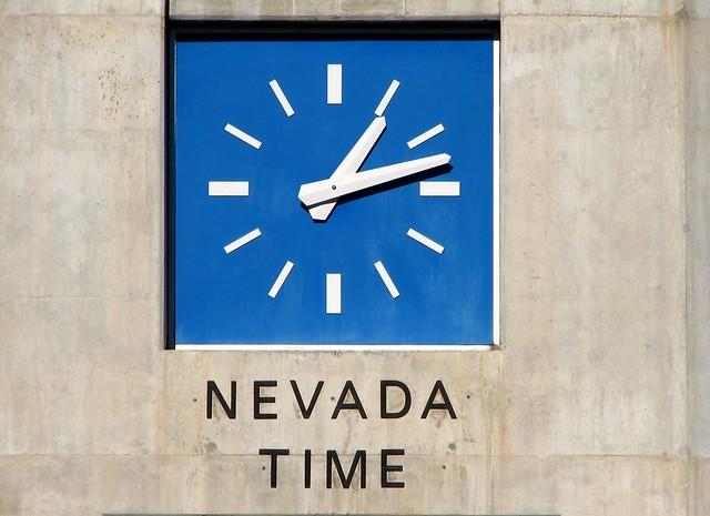 nevada time zone clock