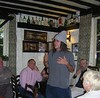 storytelling at a pub in England