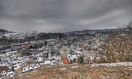 winter sky snow clouds schweiz switzerland europe schaffhausen 2009 hdr d300 sigma1020mm munot photomatix 5exp capturenx