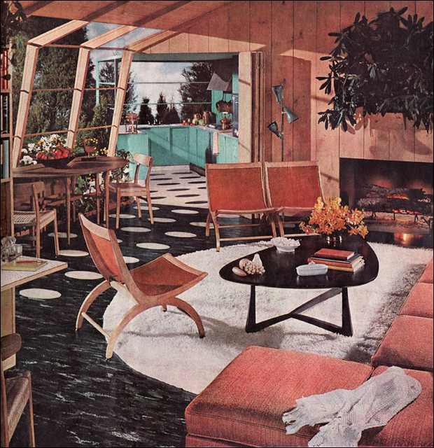 1954 Atomic Living Room
