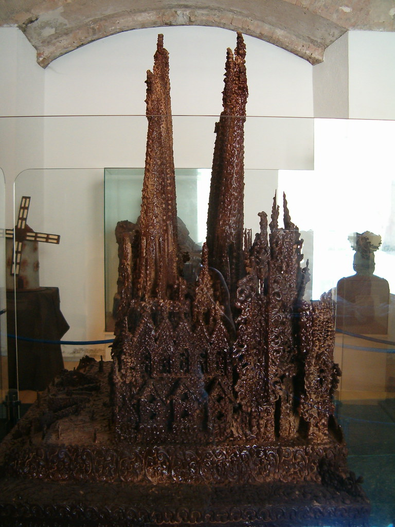 Sagrada Familia de chocolate