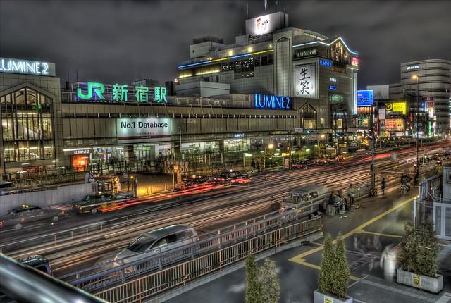 新宿、渋谷、池袋 もっとも栄え...
