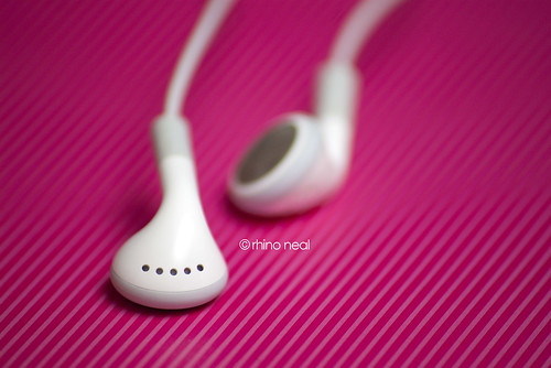 [in ear]