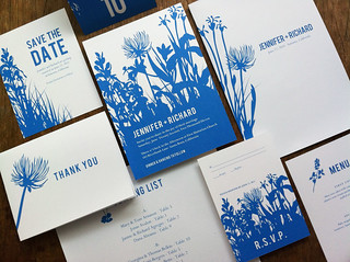 Printable Wedding Kit - Bluebell