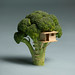 Broccoli House by Laser Bread