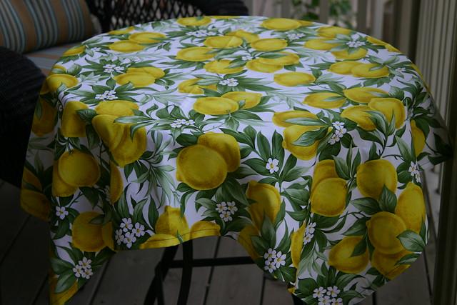 Groovy lemon fabric | Flickr - Photo Sharing!