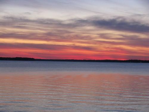 sunset river gwynnsisland