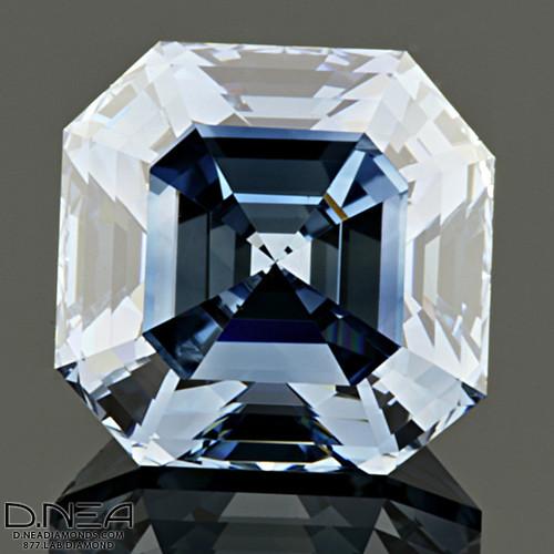 Asscher Cut Diamond Wedding Rings