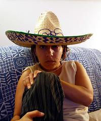 clothing, sombrero, hat, cowboy hat, person, headgear,
