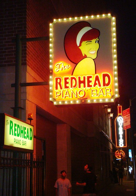Redhead Piano Bar 98