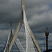 Boston Cable-Stayed Bridge by cogito ergo imago