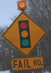 "Mol, D. (2007). ""Fail Road [photo]"". CC. http://farm4.staticflickr.com/3130/2845637227_f2dba69ea4_m.jpg"