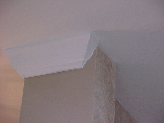 BATHROOM CROWN MOLDING DETAIL Flickr Photo Sharing