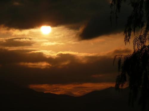 sunrise spain 2008 axarquia vinuela