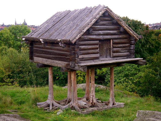 Traditional swedish log cabin flickr photo sharing for Stili di log cabin