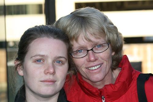 Mom and Daughter Museum of Contemporary Art Denver Dec 08
