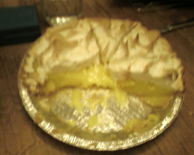 Yummy homemade lemon meringue pie | Flickr - Photo Sharing!