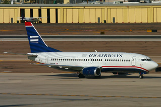 US Airways Boeing 737-33A - N166AW