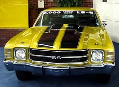 chevrolet, automobile, automotive exterior, vehicle, compact car, bumper, antique car, chevrolet chevelle, land vehicle, muscle car,