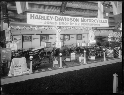Samuel Heath Head  Harley-Davidson motorcycle disp...